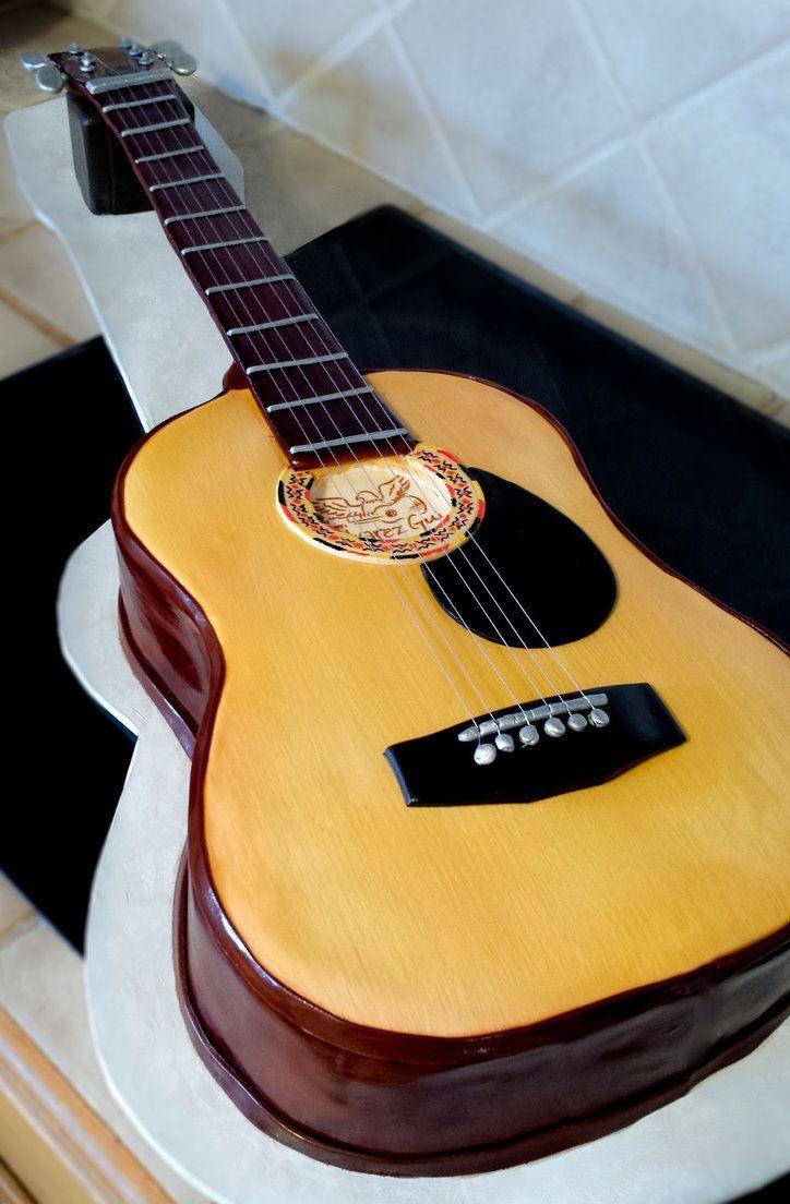 Guitar Cake Ideas Elitadearest