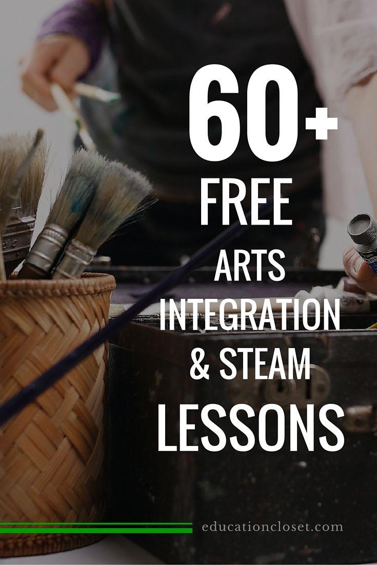 Arts Integration Lessons | STEAM lessons | educationcloset.com
