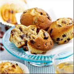 Airfryer Cranberry Muffins
