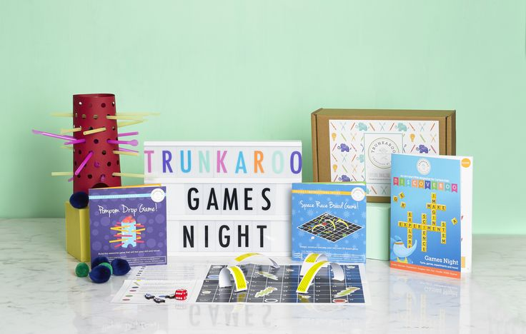 Enter our fabulous Family Games Night Giveaway with @Trunkaroo and @okido!!