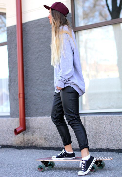 I just love the baggy easy mess day look!