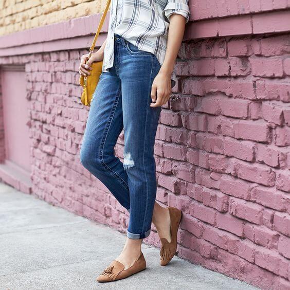 Stitch Fix: How To Wear Distressed Denim