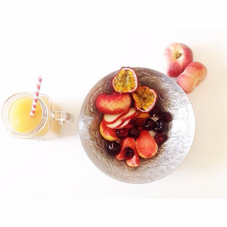 Fruit, man