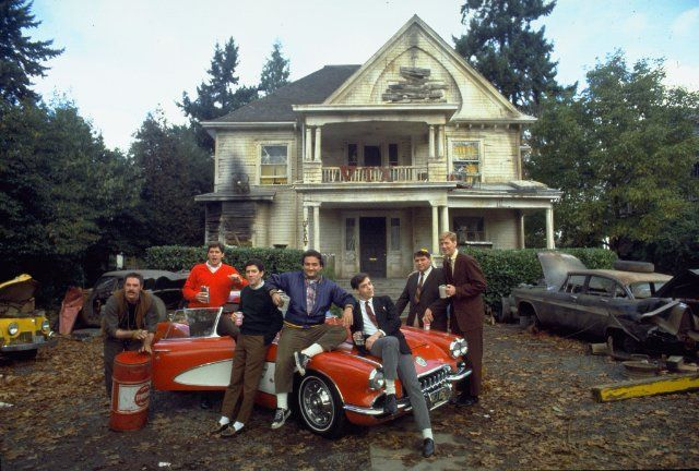 The movie Animal House (1978) took over a fraternity house, and filmed around campus. (Trivia: What movie was refused permission to film at University of Oregon? The Graduate)