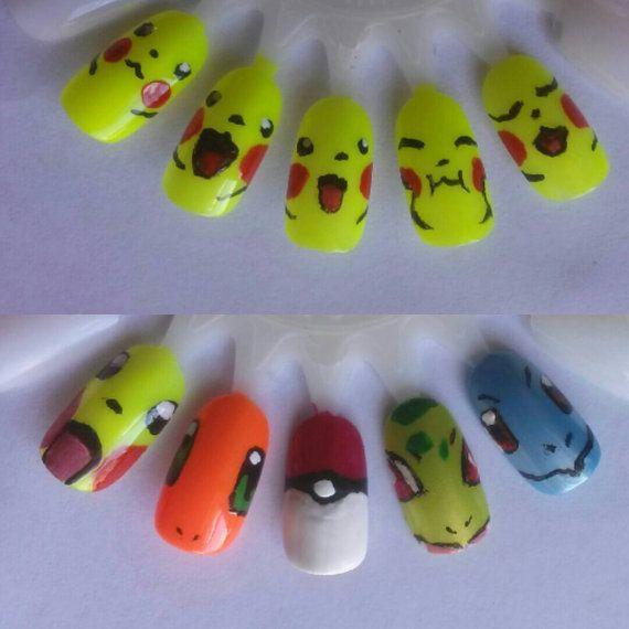 38 best Nails: Video Games images on Pinterest   Diseños de uñas ...