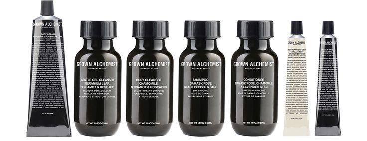Botanisk og økologisk skønhed med Grown Alchemist