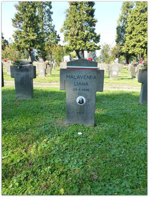 Liana Malavenda - Milano, Cimitero Maggiore, Campo X, Campo dell'Onore - Caduti della Repubblica sociale Italiana (1943-1945)