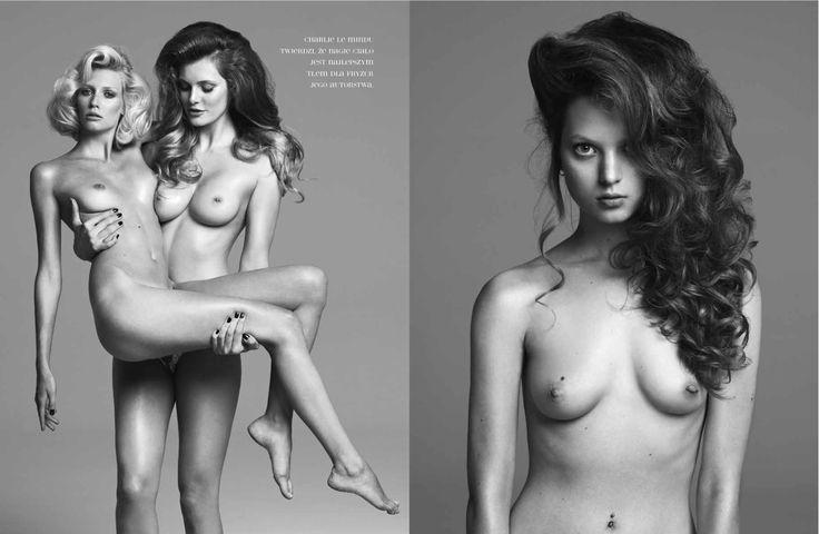 MAKEUP ARTIST PATRYCJA DOBRZENIECKA. HAIR  CHARLIE LE MINDU .  body and beauty