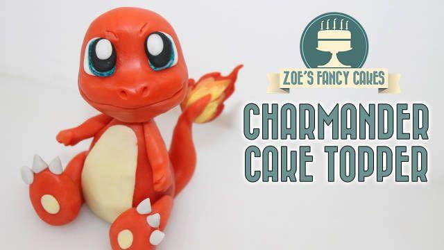 Charmander cake topper - CakesDecor