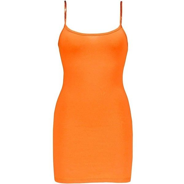 BKE Sequin Tank Top ($4.13) ❤ liked on Polyvore featuring tops, orange, orange tank, sequin tanks, strappy tank top, bke tops and strappy top