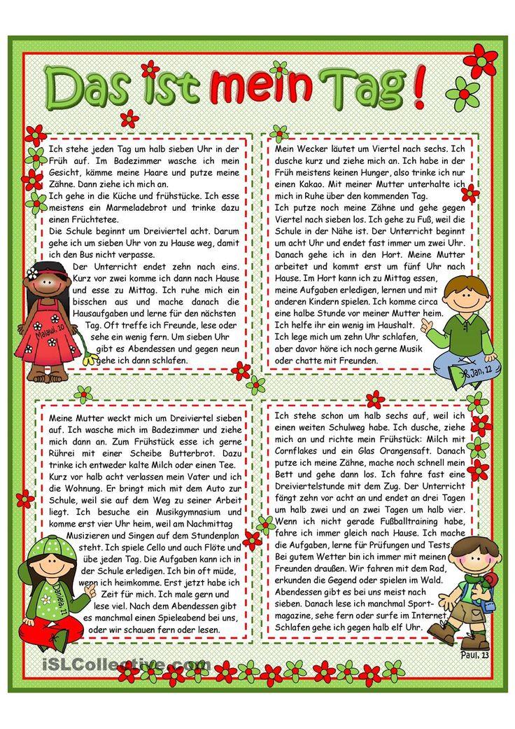 Die besten 25+ Leseverstu00e4ndnis Ideen auf Pinterest ...