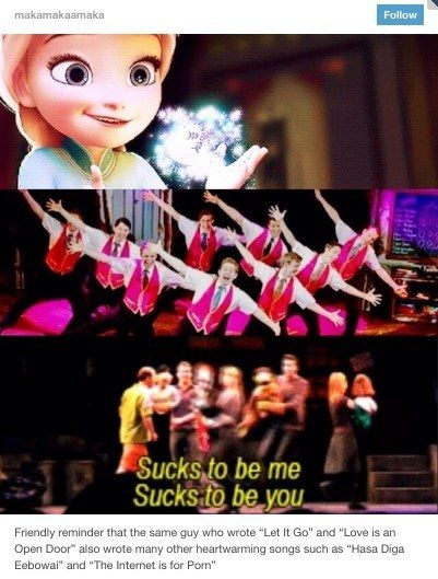 18. That time we were all scarred for life.   Community Post: 23 Times The Musical Theater Side Of Tumblr Was Not OK