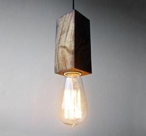 hanging edison lamp