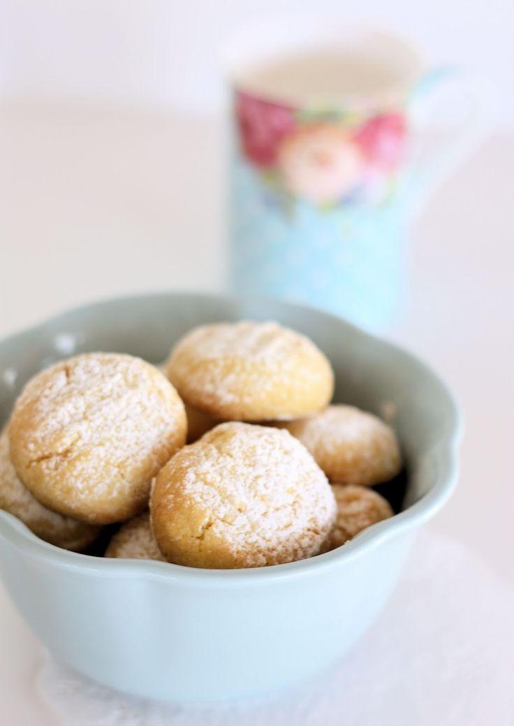 Custard Shortbreads - A Spoonful of Sugar