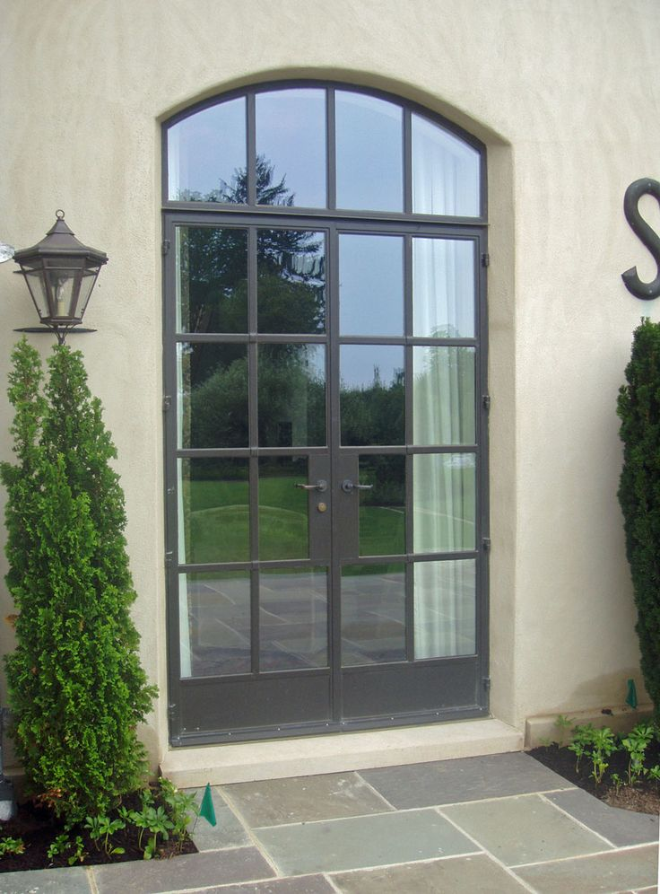 75 best front door entrance images on pinterest for Front door with three windows
