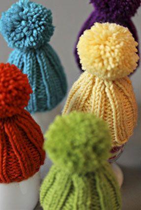 Eierwärmer stricken: Eine Mütze für´s Sonntagsei