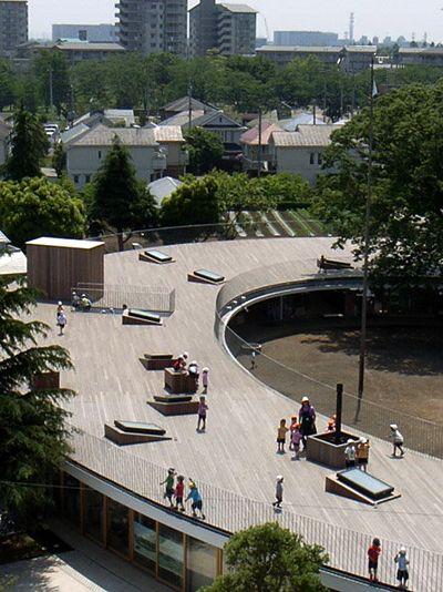 Kinder Garden: Fuji Kindergarten, Tokyo, Japan By Tezuka Architects