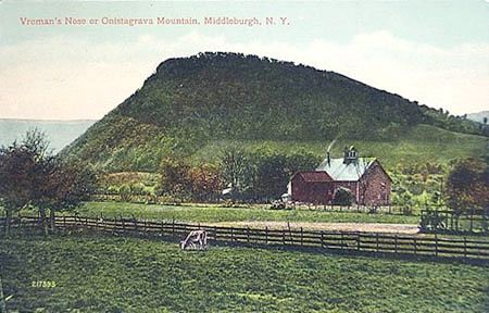 Vroman's Nose postcard. Schoharie County NY - from www.beekman1802.com