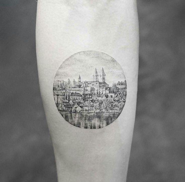 Tattoo city Circle detail