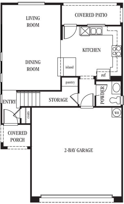 58 best images about dream floor plans from lennarlv on for 2 bay garage plans