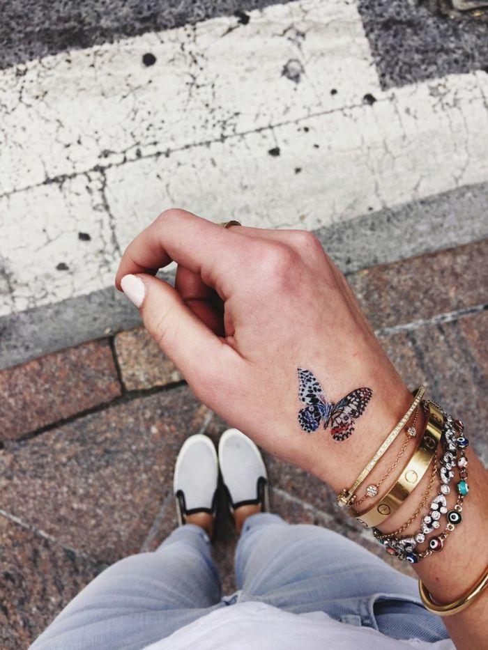 1001 Ideas De Tatuajes De Mariposas Super Bonitos Tattos Cute
