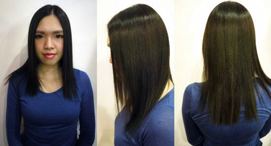 BEFORE_ Great Lengths Hair Extensions  by mister_Dior
