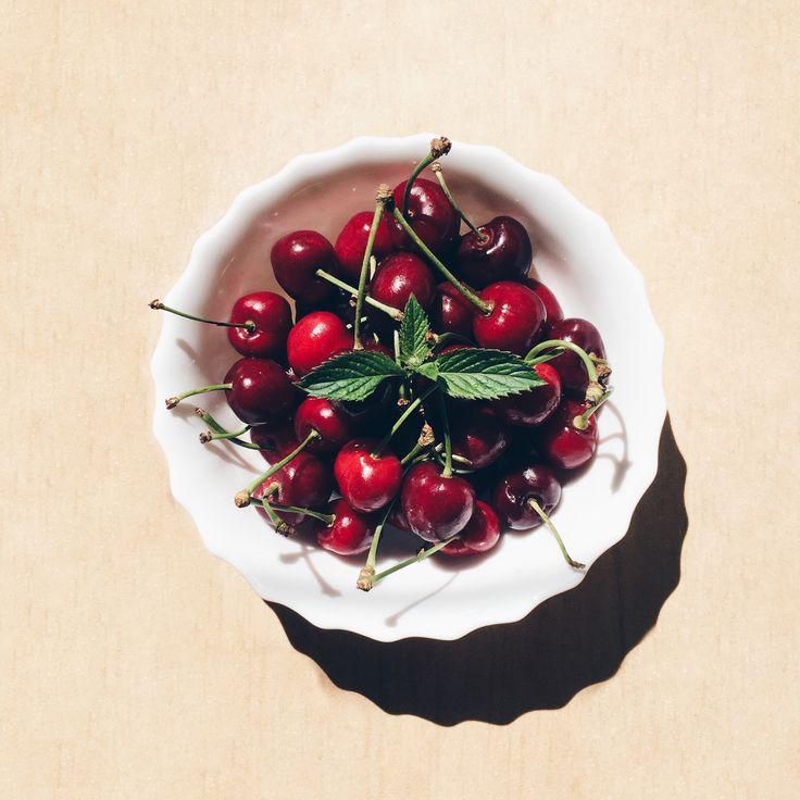 Czereśnie 🍒 #czereśnie #deser #cook #fruits #summer #cherries