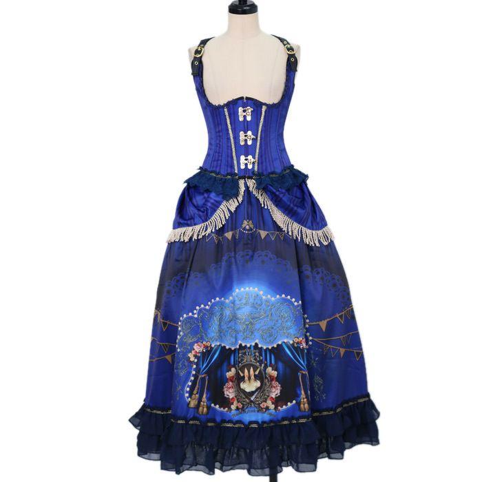 Surfacespell .. * ° +. .. * ° +. Freak Show corset + long skirt https://www.wunderwelt.jp/en/fleur/products/s-00097  ☆ Official online retailer ☆ Wunderwelt Fleur ☆