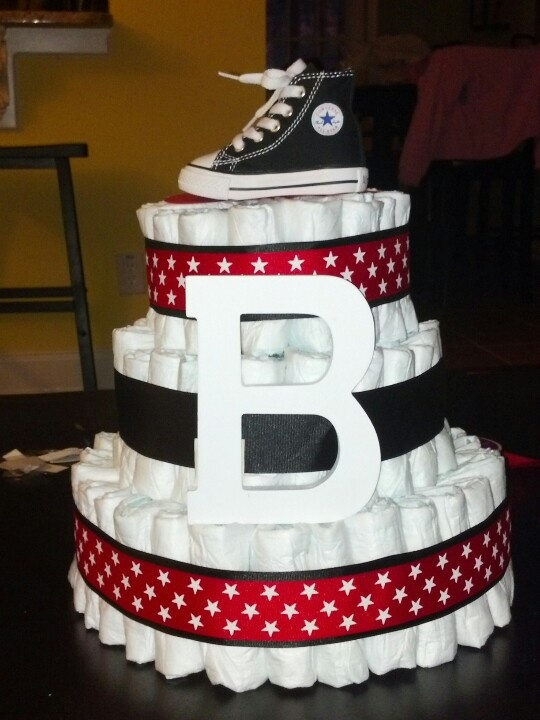 Fish Bowl Diaper Cake