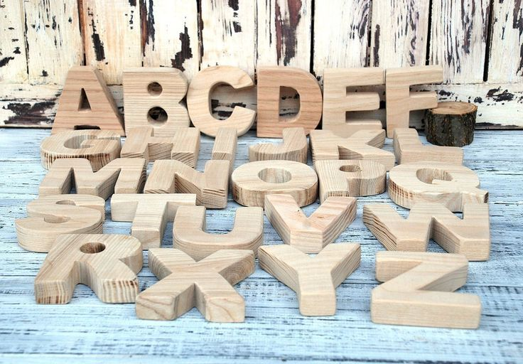 "Wooden English (Latin) alphabet, a set of letters, English letters, wooden letters, wooden alphabet letters, wooden letters, Wood Alphabet Set, alphabet letters for nursery, Children Decor. A set of wooden letters - English (Latin) alphabet. 26 letters for the exercises and lessons. Natural materials (natural wood, ash, of which the characters are well developed motor skills and develops tactile sensations. The average size of the letters - 7.5 cm * 7.5 cm - 2.7"" inches Thickness - about…"