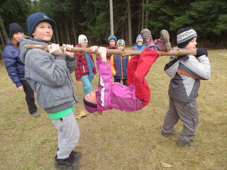 švp 2016 - lovíme kořist v lese