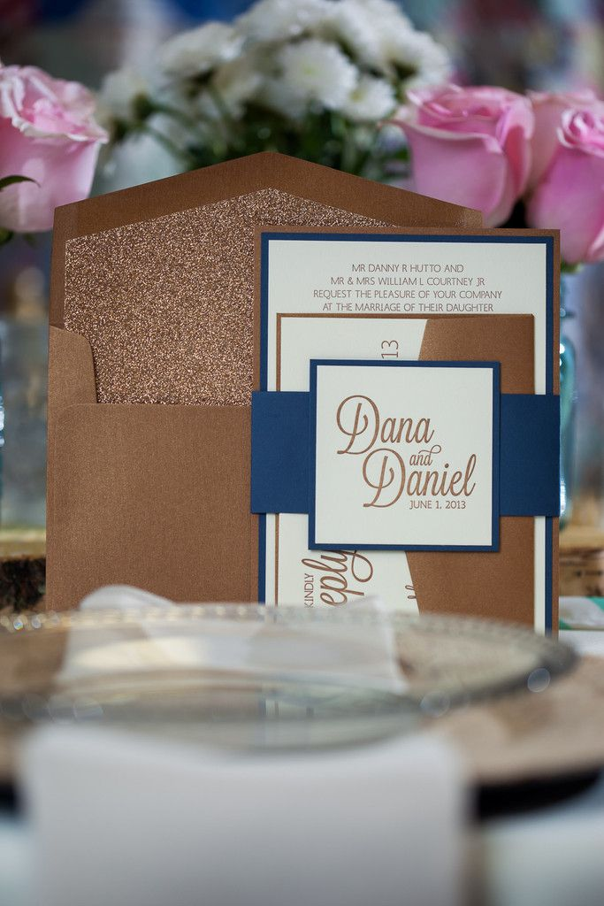 CAITLIN Suite Fancy Glitter Package, gold and navy, bronze and navy, rustic wedding invitations, burlap chargers, rustic wedding decor, elegant wedding invitations, formal wedding invitations, glitter wedding invitations