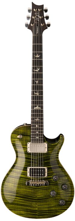 "PRS Mark Tremonti Baritone Limited Edition. Longtime PRS endorser Mark Tremonti of Creed and Alter Bridge fame gets another signature guitar under his belt - a long scale ""Baritone"" guitar variation of his original signature guitar that makes the instrument viable for down-tuning to C#, which is Mark's preferred tuning."