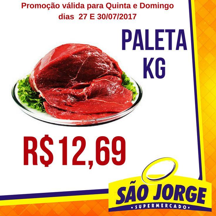 Quinta-Feira e Domingo tem promoção no açougue do Supermercado São Jorge. So preço baixo mesmo! #supermercadosãojorge.