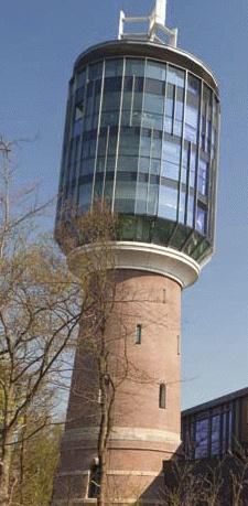 Dat kunnen we in Nederland ook: Watertoren kantoor / Bussum, NL