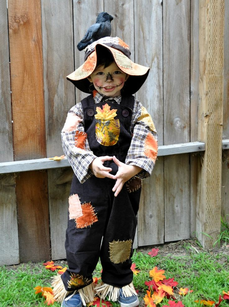 Scarecrow costume halloween boy outfit. | zorraindina - Seasonal on ArtFire