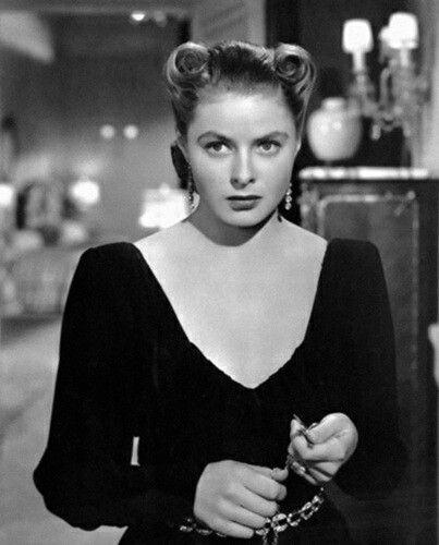 Ingrid Bergman ~ Notorious 1946