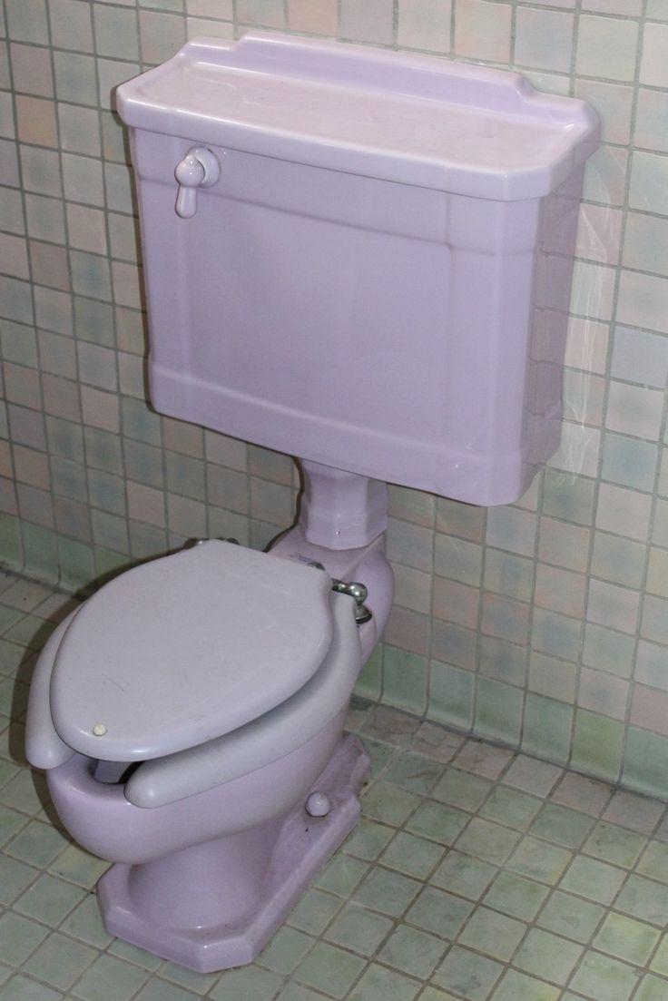 Materials Unlimited   P17011   Three Piece Antique Revival Period Lavender  Bathroom Suite, $1,985.00 (