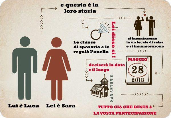 idee originali inviti matrimonio - Cerca con Google