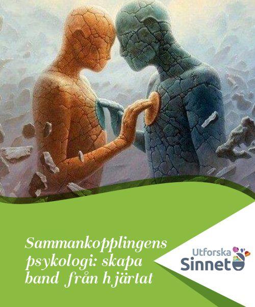 """Sammankopplingens psykologi: skapa band från hjärtat   Sammankopplingens psykologi säger att det inte är samma sak att komma överens med människor som att """"sammankoppla"""" med dem."""