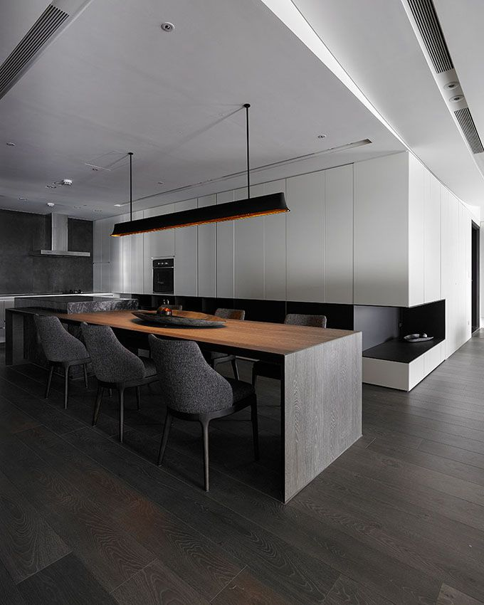 The folding and overlaps of interfaces_Design Apartment-Design director Tang,Chung han-Interior design|space design