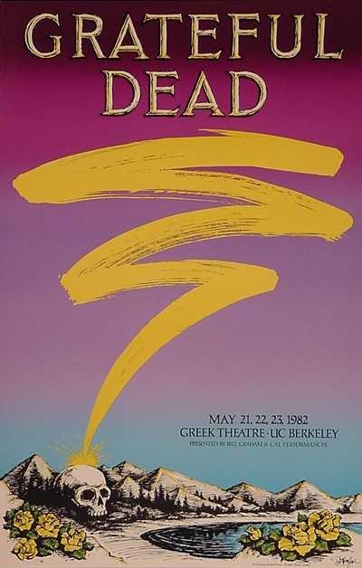 5/21-23/82  Venue: Greek Theatre, Berkeley, CA  Artist: Daniel Ziegler
