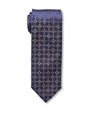 Massimo Bizzocchi Men's Dots Tie, Blue