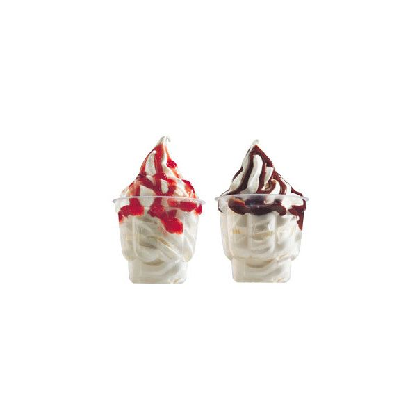 Sundae | McDonald's Singapore ❤ liked on Polyvore featuring food, fillers, ice cream, food & drinks and food and drink