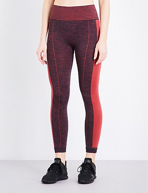 WHISTLES Panel Sports stretch-jersey leggings