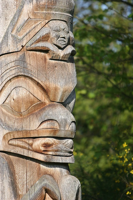UBC Totem Poles - Vancouver, British Columbia, Canada by kk+, via Flickr