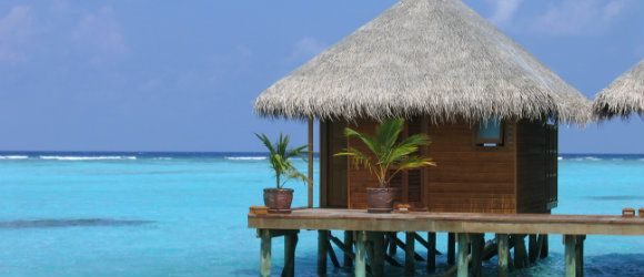#Maldives Water Villas #holdiay deals #getonthebeach