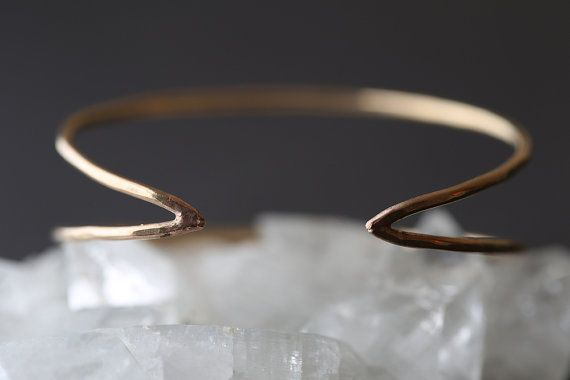 Arrow Cuff As seen in Lucky Magazine by LexLuxe on Etsy, $112.00