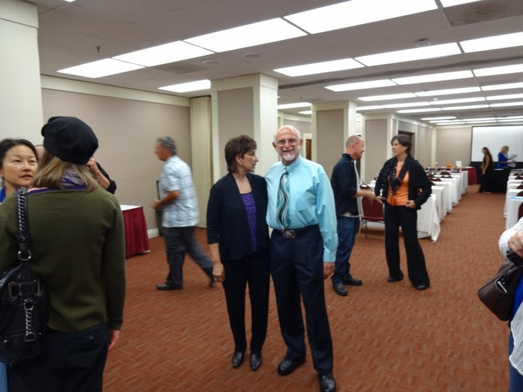 Christine Issel & Bill Flocco, co-founders of Reflexology Association of California