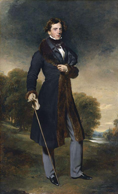 Sir Thomas Lawrence (British 1769–1830) [Romanticism, Portrait artist] Portrait of David Lyon, c.1825. 4. LAWRENCE (1825) David Lyon. Madrid.